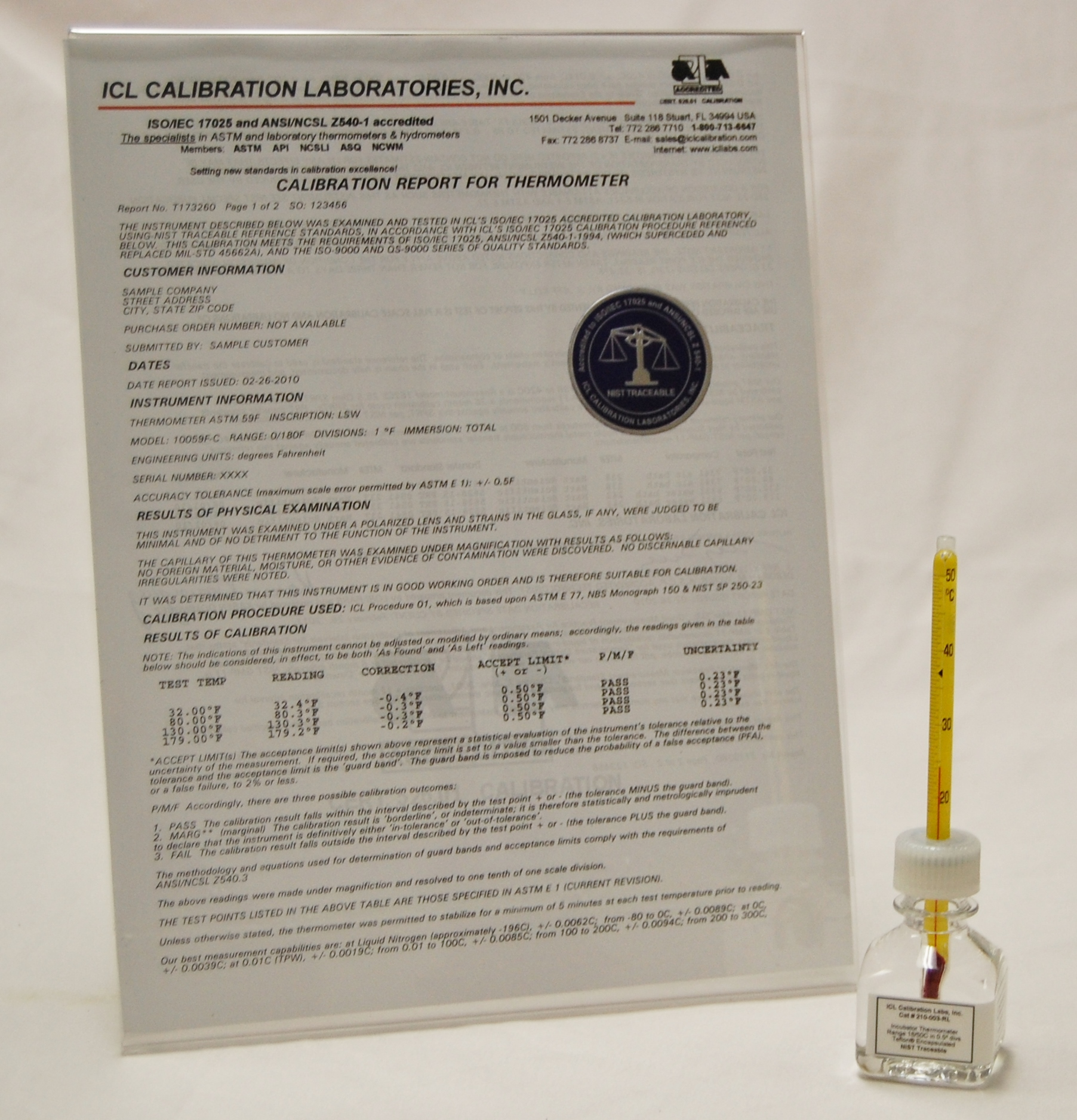 Environmental Chamber Thermometers