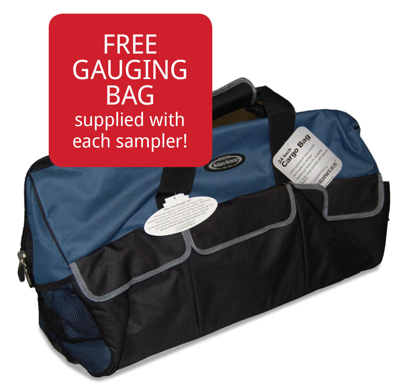 Free Large Gauging Bag