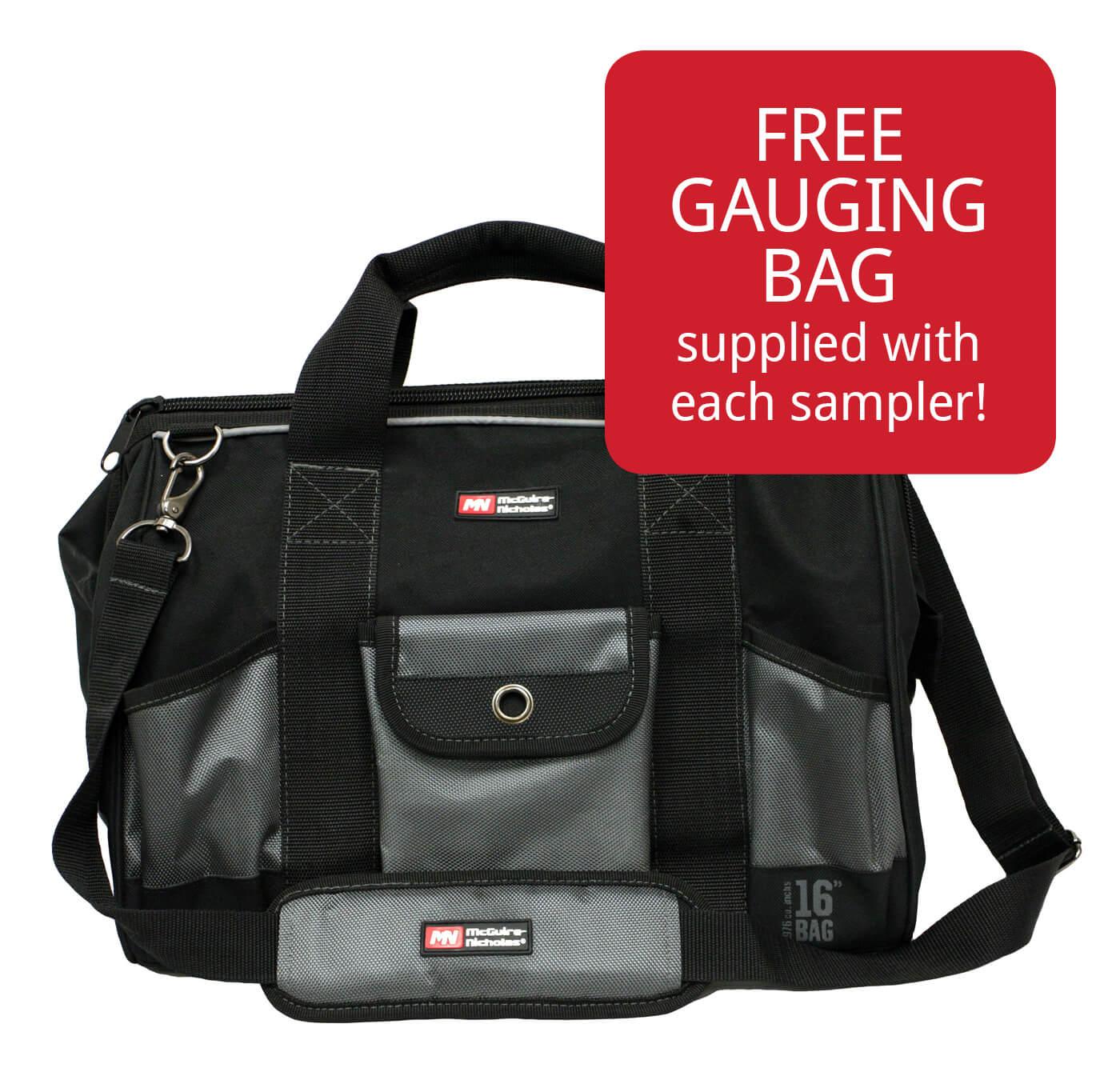 Free Gauging Bag